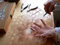 finishing metal lacework