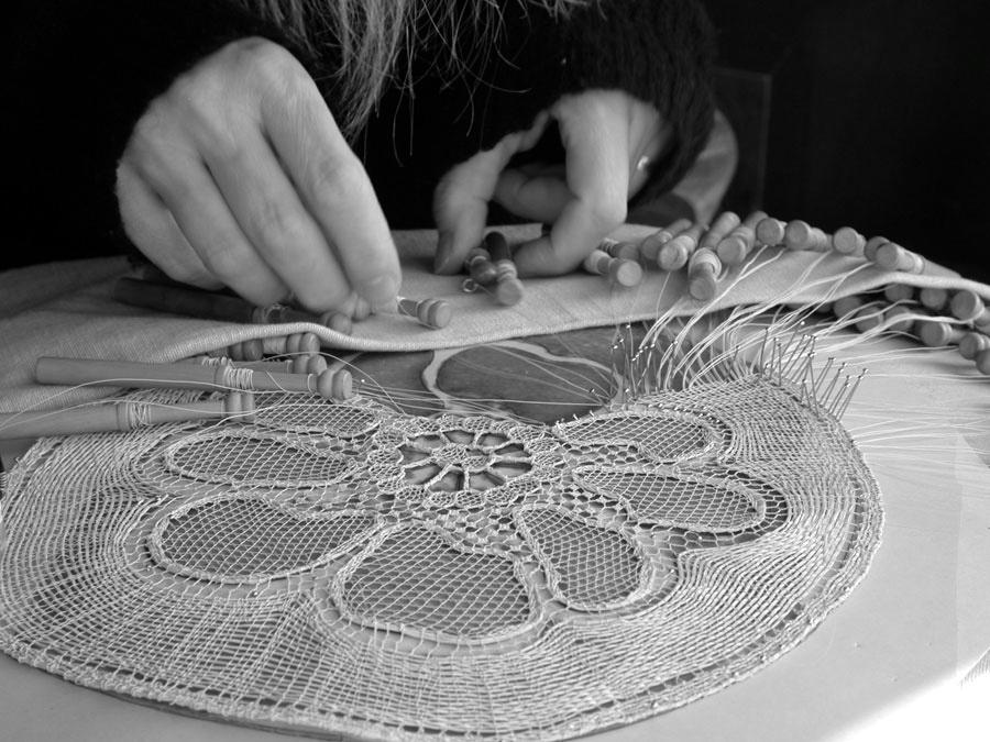 handmade lace