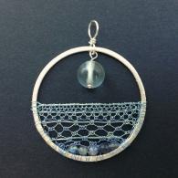 Blue Ocean Blue Sky Amulet Pendant