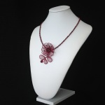 chantilly pendant - wine
