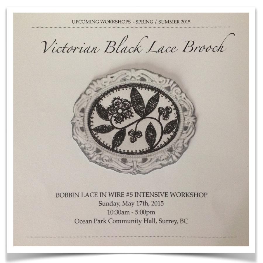 victorian brooch poster