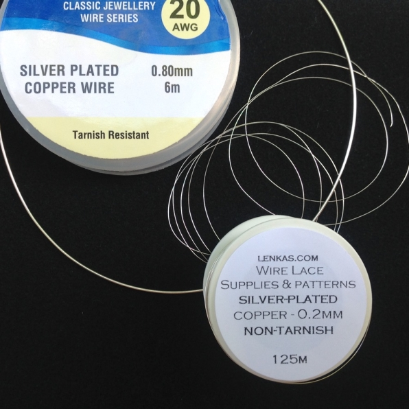 silver plated wire