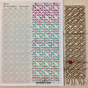Work in progress - testing TesseLace grid #4x4_17