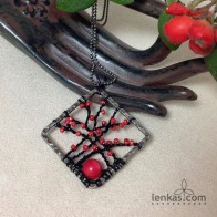 Branches with Berries Pendant