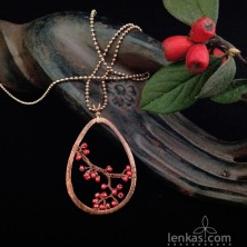 Branchlet with Berries Pendant