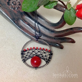 Red Seed Pendant