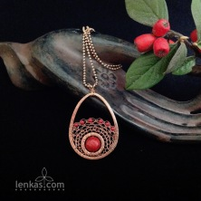 Nurturing the Seed Pendant