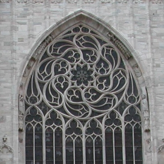 duomo rose window-detail