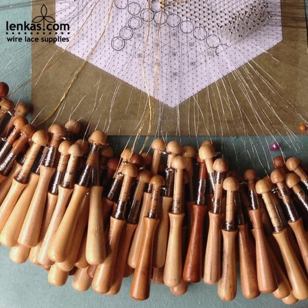 bobbin 01 beech for lace making